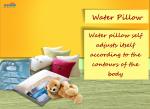 water pillow
